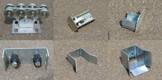 Комплект фурнитуры для откатных ворот производство SP