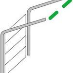 Типы монтажа промышленных ворот  Алютех