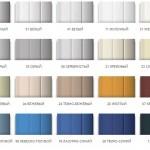 Цветовые решения для роллетных систем Алютех